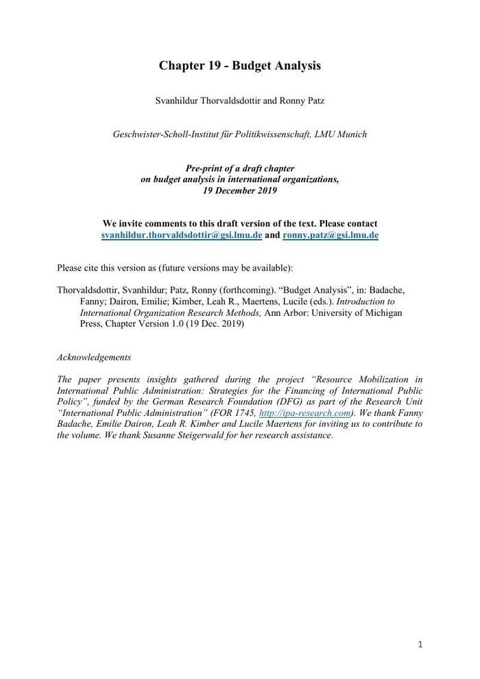 Thumbnail image of PrePrint Chapter IO Budgets.pdf