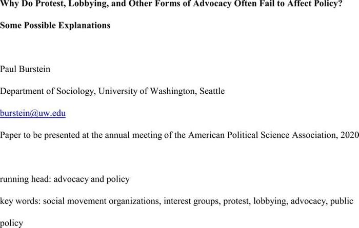 Thumbnail image of Burstein APSA 2020 Advocacy and Policy.pdf