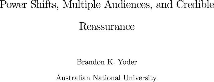 Thumbnail image of Power shifts, multiple audiences and credible reassurance, 2020-9-6.pdf