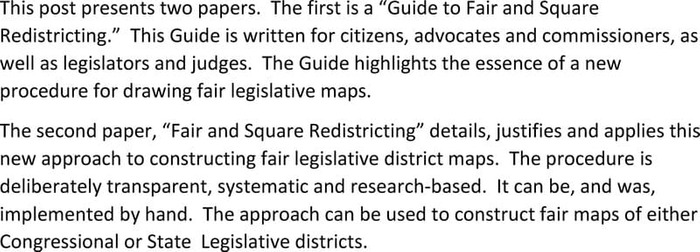 Thumbnail image of FAIR AND SQUARE REDISTRICTING with Guide.pdf