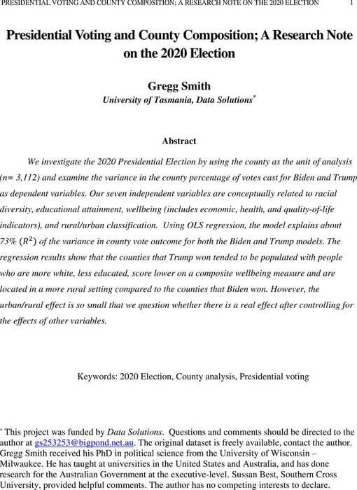 Thumbnail image of Presidential Voting and County Composition.pdf
