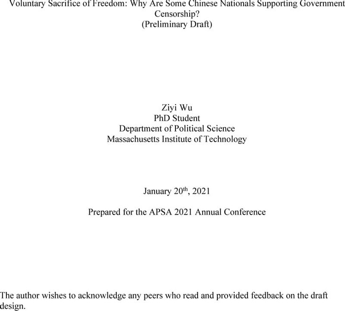 Thumbnail image of Wu_Voluntary Sacrifice of Freedom_Draft.pdf
