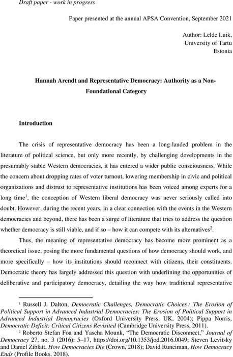 Thumbnail image of Arendt and Authority Lelde Luik APSA.pdf